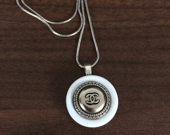 Beautiful Repurposed Button Necklace