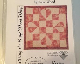 Four Patch quilt pattern.