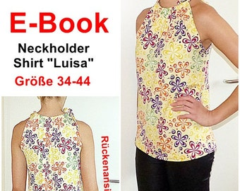 EBook - Neckholder / Top Luisa