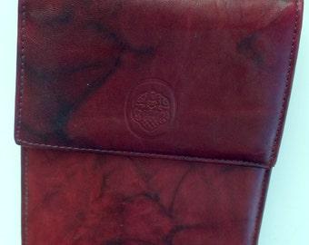 MUNDI Genuine leather small  cross body organizer purse