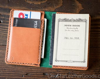 BUILD-YOUR-OWN - Tiny notebook wallet for Apica CD5 notebook