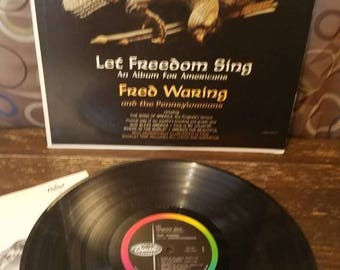 Let America Sing Vinyl Records LP