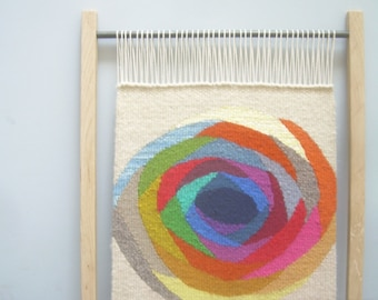 Wall Tapestry, fibre art, decorative WALL hanging