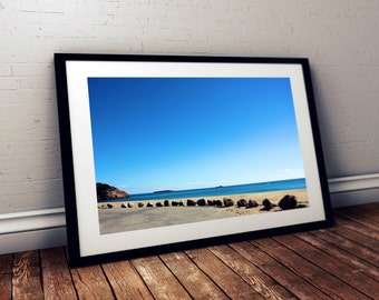 singing beach, manchester-by-the-sea, massachusetts, new england, beach, rocks, ocean, photography, fine art print