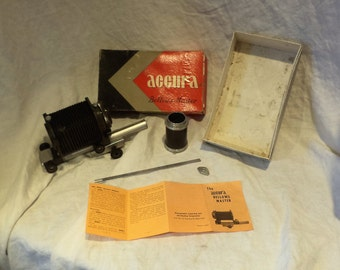 Accura Bellows Master Kit, Vintage Camera Lens Accessory, Photography Salvage