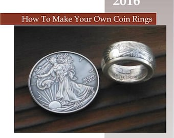 SALE! Swedish Wrap Technique! Edition #42 PDF Training Manual on How to Make Coin Rings.