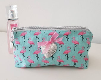 Purse with tropical makeup, or other