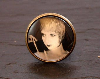 ring cabochon actress Louise Brooks