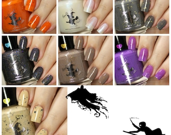 MINI Book 3 Collection - Harry Potter Inspired custom nail polish