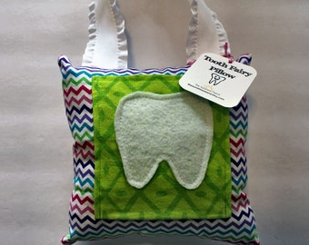Tooth Fairy pillow - Tooth Holder - Tooth Fairy - Children's Gift - Girls Tooth Fairy Pillow - Tooth Pouch
