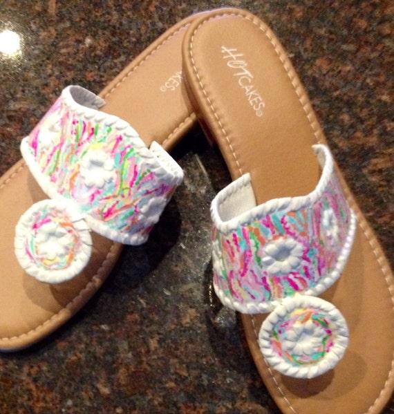 Lilly Pulitzer Vintage Sandals