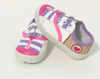 Doc McStuffins INSPIRED  Painted Shoes