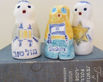 Golem Magical Mystical Protector Gift for Bar Mitzvah One of a Kind Judaica Made in Israel Mazel Tov, Shalom, Jewish Star