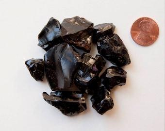 Black Gum Arabic - Senegalia catechu (natural resin incense) (1 ounce)