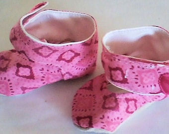 Pink and Red Girl's Booties!
