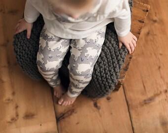 Organic baby leggings, organic baby clothes, Baby Leggings, Eco Friendly Leggings, organic baby pants, toddler leggings, baby pants, lambs