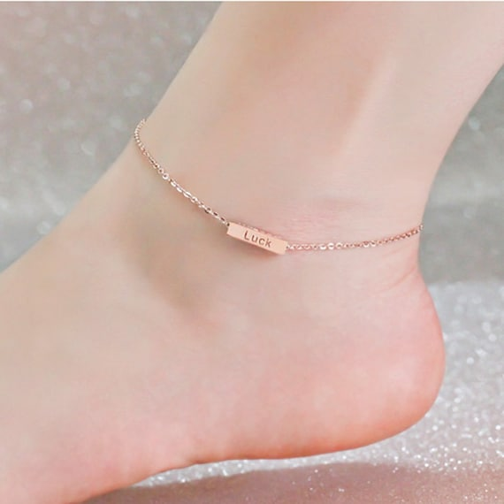 listing uk bracelet ckru friendship anklet narrow il custom ankle
