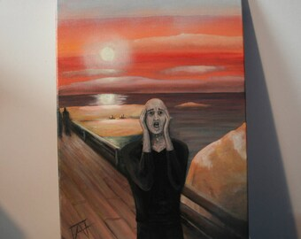 Cover - The Scream/Skrik - Edvard Munch