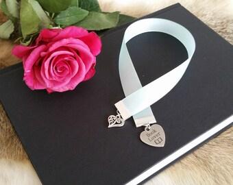Ribbon Bookmark ' Book Lover '