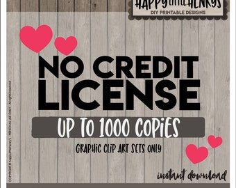 NO CREDIT LICENSE - No credit License, No credit, small business, No credit License Use