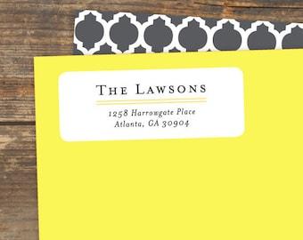 Address Label Printable - Things Change - Avery Address Label