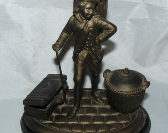 Antique 19th Century Inkwell