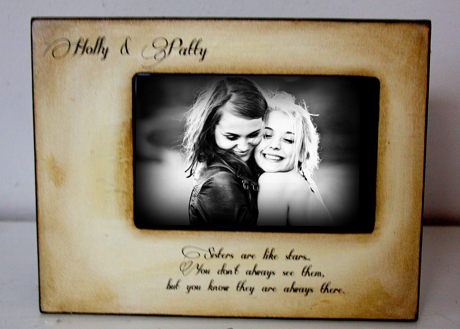 Picture Frame Gift Best Friend Mom Dad Sister Brother 4x6