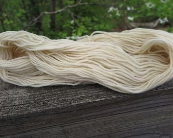 Bare 100% Domestic Merino Wool Blend Worsted Weight Yarn, undyed yarn, dyeable yarn