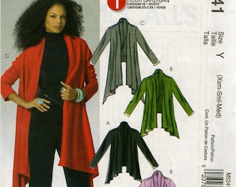 McCall's M5241 Size Y (Xsm-Sml-Med)
