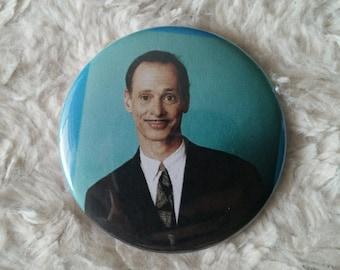 John Waters Pin Back Button