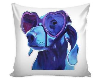 Weimaraner Dog, Pillow Cover, Weimaraner Gift, Decorative Pillow, Dog Art, Weimaraner Gift, Weimaraner Art, Dog Pillow Cover, Pillow Covers