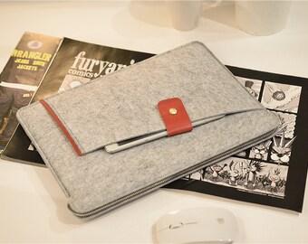 "Touch Bar 13"" Macbook Pro , 13 inch Laptop Sleeve , Felt Macbook 13 Case , Felt Macbook 13"" Sleeve , Felt Macbook Pro 13 Case #209"