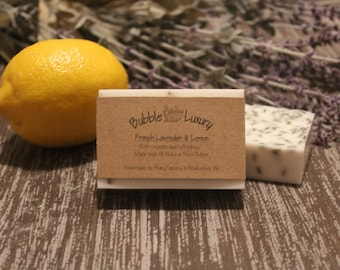 French Lavender and Lemon Shea Butter Soap