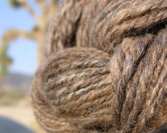 Hand Spun Yarn - Alpaca, Llama and Wool - Natural Wonder 1