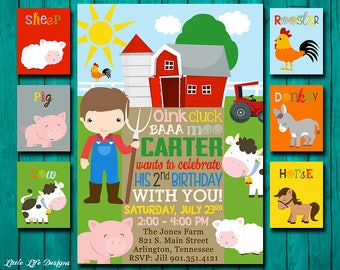 Farm Party Invite. Farm Birthday Party Invitation. Kids Farm Animal Party. Farm Animal Birthday Party. Farm Animal Invite. Farm Birthday.