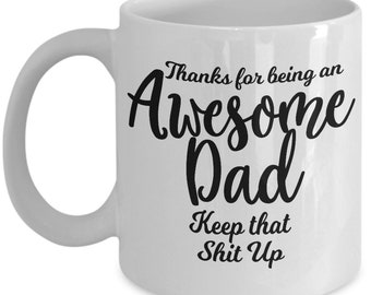 Coffee Mug with a Message for your Lovely Dad