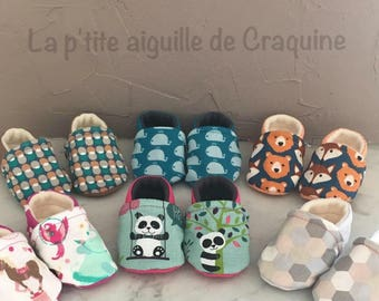 3/6 month baby booties