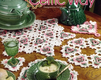 Annie's Attic 874053 How to Crochet The CELTIC WAY Dot Drake