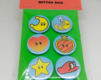 Super Odyssey Button Pack