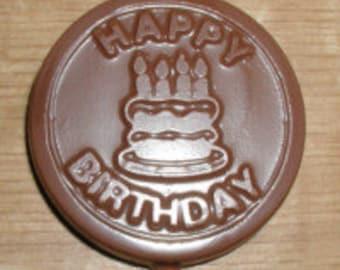 Happy Birthday  Lolly Chocolate Mold