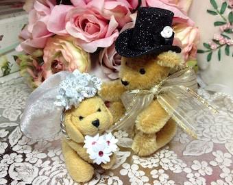 Wedding Cake Topper ~ Top Hat ~ Custom Size ~ Custom Color ~ Handmade ~ Ready to Ship