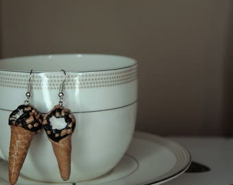 Ice Cream Cone Earrings!
