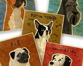 Pick Your Pooch Dog Art Print 8 in x 10 in
