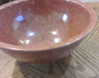 Vintage Texas wear confetti or splatter bowl.