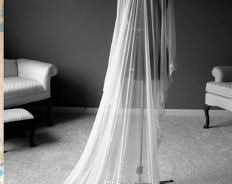 Mantilla - Floor Length Veil