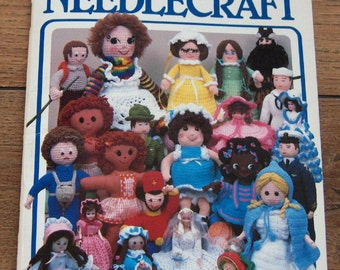 vintage 80s Annies SHOWCASE OF NEEDLECRAFT number 4 - dolls and clothes