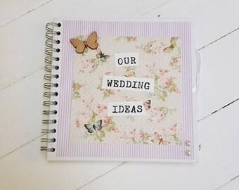 SALE-Our wedding Ideas scrapbook