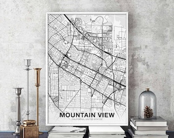 Mountain view ca Etsy