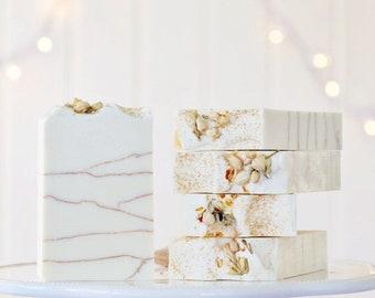 White Magnolia Vegan Coconut Milk Soap