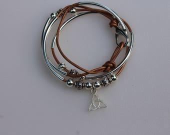 Celtic Charm Wrap Bracelet
